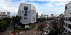 Pembuatan Pondasi Jalan MRT