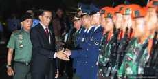 Jokowi Sambut Jenazah Korban Hercules