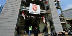 Penampungan Sementara Pedagang Pasar Benhil