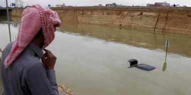 Banjir Melanda Arab Saudi