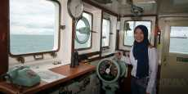 Nakhoda Kapal Tanker Perempuan