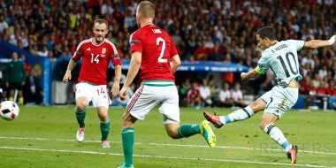 Eden Hazard Jadi Pemain Terbaik Laga Belgia vs Hungaria