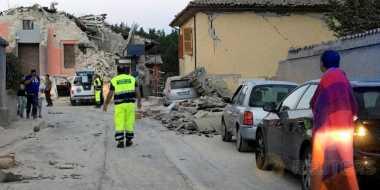 Gempa Berkekuatan 6,2 SR Guncang Italia