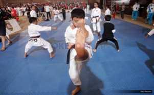 Melihat Aksi Karateka Cilik di Kejuaraan Dunia Karate SKIF 2016