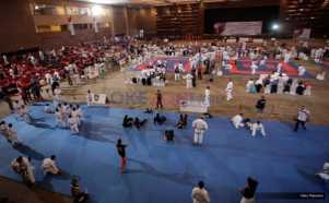 Peserta Padati Arena Kejuaraan Dunia Karate SKIF 2016
