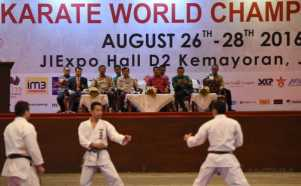 Pembukaan Kejuaraan Dunia Karate SKIF 2016 di Jakarta