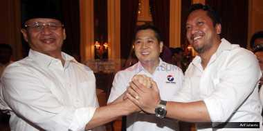 Cagub Banten Wahidin Halim Silaturahmi dan Konsolidasi Politik dengan Hary Tanoe