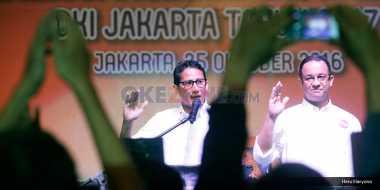 Anies-Sandiaga: Kami Hadir untuk Majukan Jakarta Bahagiakan Warganya