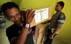 Pendistribusian 132.397 Surat Suara Pilkada Aceh
