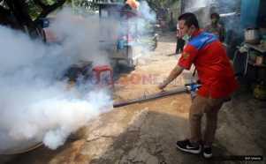 Antisipasi Demam Berdarah, Rescue Perindo Fogging di Wilayah Pejambon