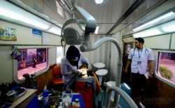 PT KAI Gelar Pengobatan Gratis Kereta Kesehatan