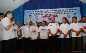 Hary Tanoe Lantik 269 DPRt Partai Perindo Blitar