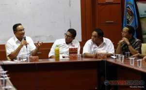 Diskusi dengan PWI, Anies-Sandiaga Berharap Pilkada DKI Demokratis dan Jurdil