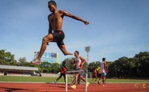 Melihat Atlet Paralympic Latihan