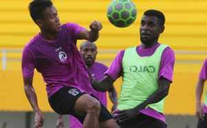 Sesi Latihan Sriwijaya FC Jelang Pertandingan Melawan Semen Padang FC
