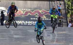 Kejuaraan Speda BMX Internasional di Banyuwangi