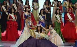 MISS INDONESIA 2017: Achintya Nielsen Dinobatkan sebagai Miss Indonesia 2017