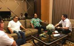 Hary Tanoe Silaturahmi ke Wagub Saifullah Yusuf