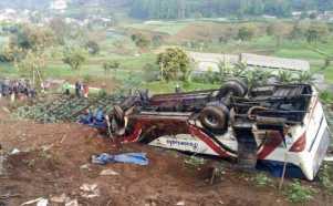 13 Orang Meninggal Dunia dalam Kecelakaan Maut di Ciloto Puncak