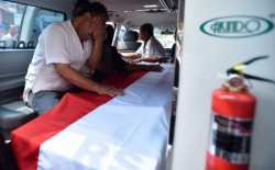 Pelepasan Jenazah Briptu Imam Gilang Korban Bom Kp Melayu