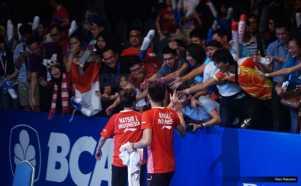 Foto-Foto Momen Kemenangan Owi-Butet Raih Juara Indonesia Open untuk Pertama Kali