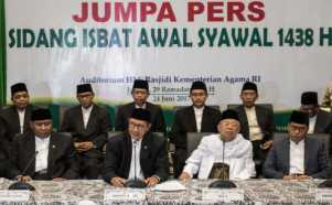 Pemerintah Tetapkan Idul Fitri 1438 Hijriah Esok Hari