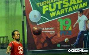 Turnamen Futsal Antar Wartawan Diikuti 12 Tim Forum Wartawan