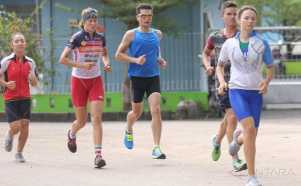 Peserta Asian Triathlon Championship 2017 Mulai Berdatangan ke Palembang