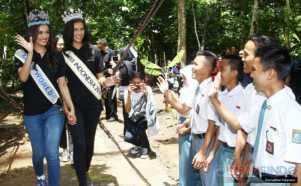 Melihat Aktivitas Miss Indonesia 2017 dan Miss World 2017 di Lebak Banten