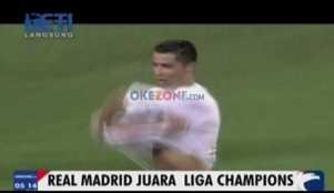 Ronaldo Penentu Kemenangan Real Madrid