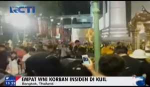 Insiden Bangkok, Empat WNI Jadi Korban