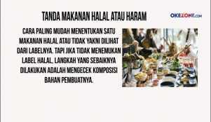 Tanda Makanan Halal atau Haram