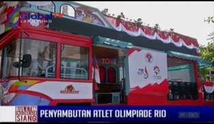 Persiapan Penyambutan Atlet Olimpiade Rio 2016