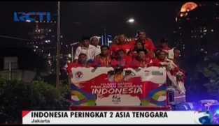 Selamat Datang Pahlawan Olimpiade Indonesia