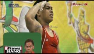 Eko Yuli Sumbangkan Medali Perak di Cabang Angkat Besi