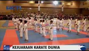 Jusuf Kalla Buka Kejuaraan Karate Dunia