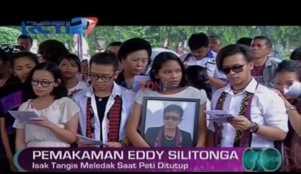 Pemakaman Eddy Silitonga