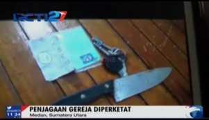 Alasan Tersangka Bom Gereja di Medan