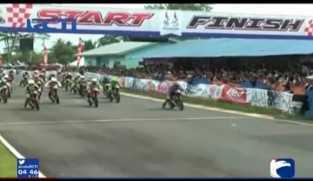 Ricuh Balap Motor PON Jabar
