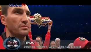 Batal Rematch, Gelar Tyson Fury Dicopot