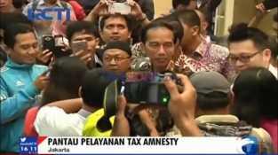 Presiden Jokowi Sidak Kantor Pajak