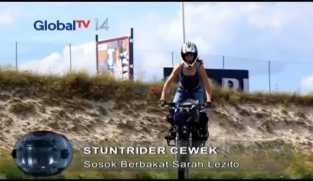 Sarah Lezito, Stuntrider Cantik Asal Perancis