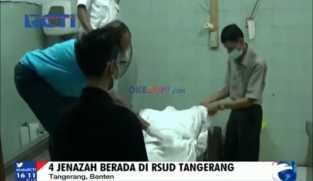 4 Jenazah Korban Kebakaran Masih Berada di RSUD Tangerang