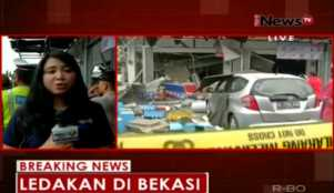Ledakan Mengakibatkan 2 Orang Korban Luka dan Merusak Kendaraan Warga