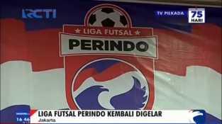 Liga Futsal Perindo Kembali Digelar