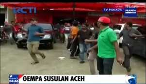 Gempa Susulan Mengguncang Aceh, Warga Berhamburan Keluar Gedung