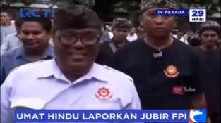 Umat Hindu di Bali Laporkan Jubir FPI