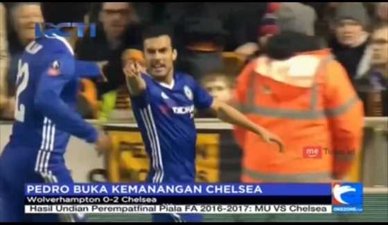 Pedro Buka Kemenangan Chelsea