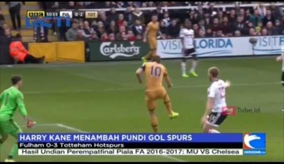 Hatrik Harry Kane Buat Spurs Menang