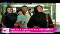 Anang dan Ashanty Pulang Umroh